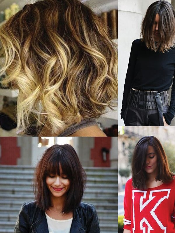 Wavy Bob Hairstyles Without Bangs : The long bob haircut: lob vs extra long hair fashion tag