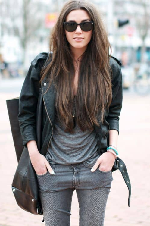 Magnificent Hairstyles Talk The Lob Vs The Extra Long Hair Hairstyles For Women Draintrainus