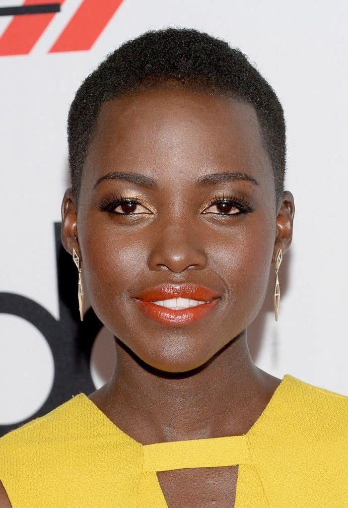 lupita nyongo orange lips 1 In The Land Of ORANGE LIPS