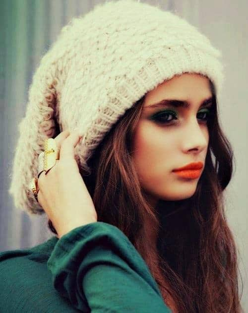 makeup-orange-lips