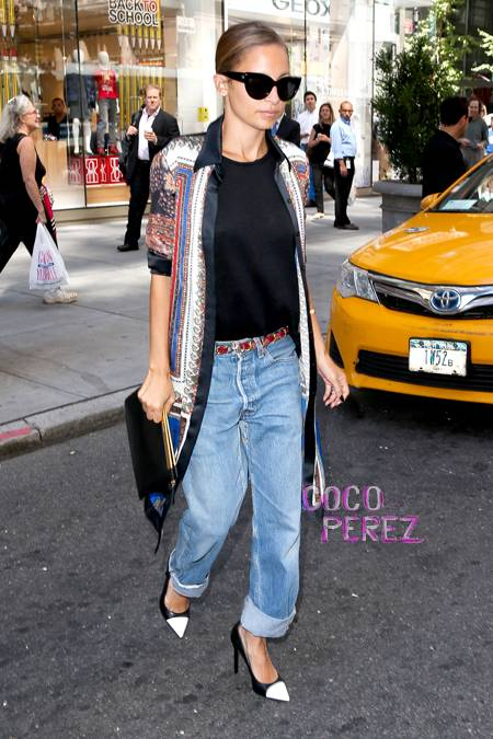 nicole-richie-street-style-cuffed-jeans