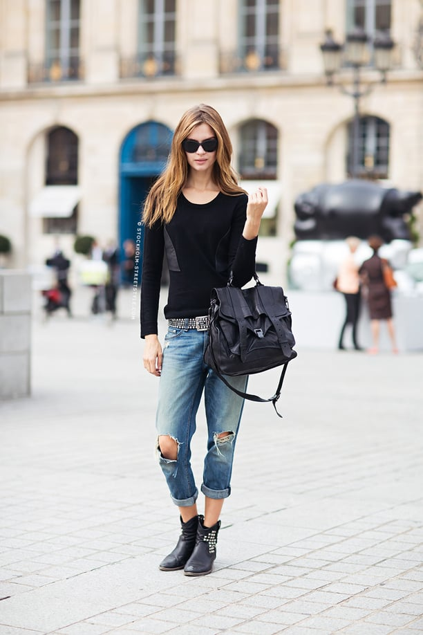 Cuffed Jeans Or How To Look Effortlessly Chic The