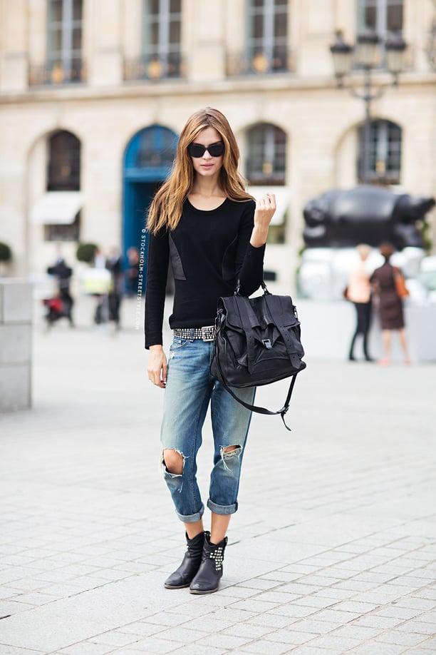 street-style-cuffed-boyfriend-jeans