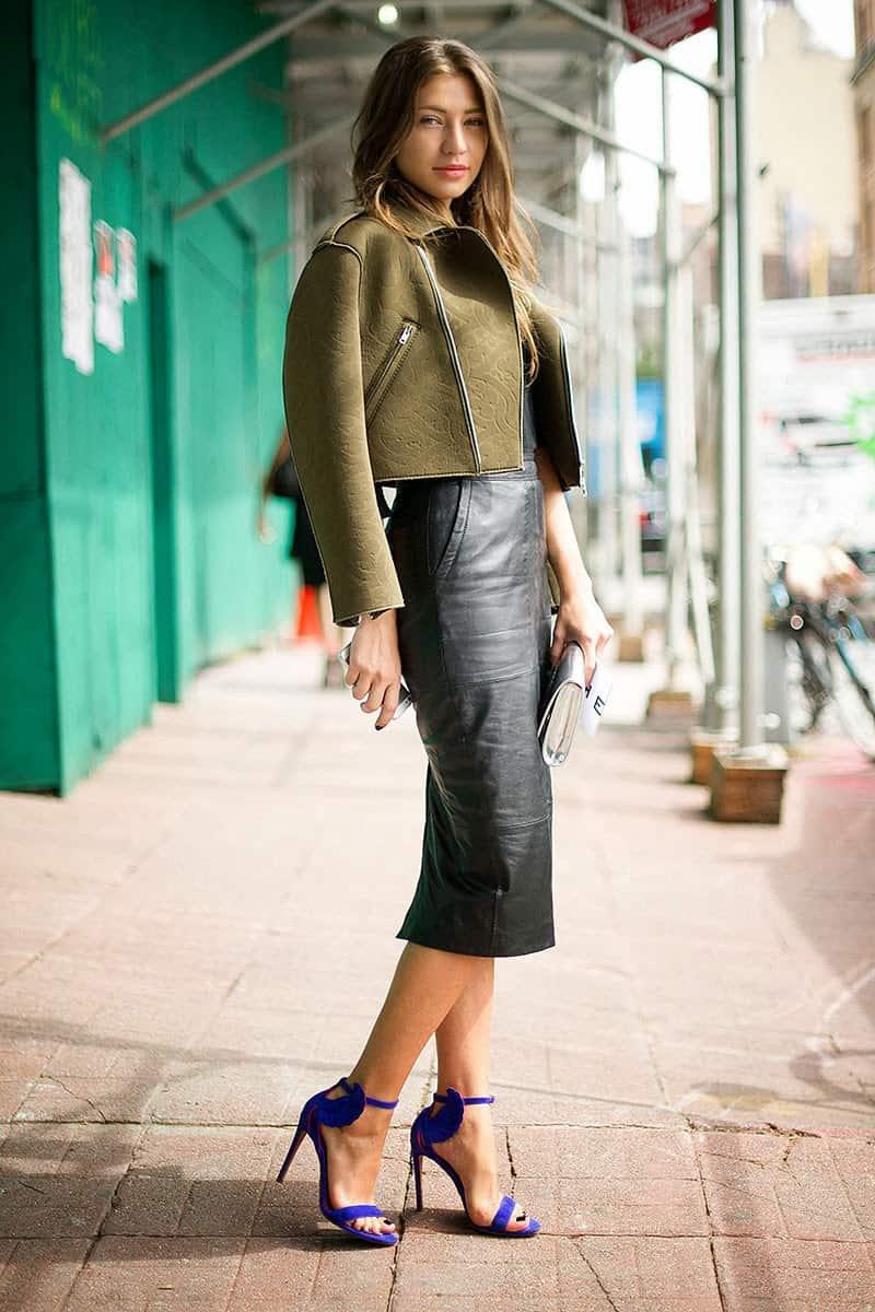 """Résultat de recherche d'images pour """"pencil skirt street style"""""""