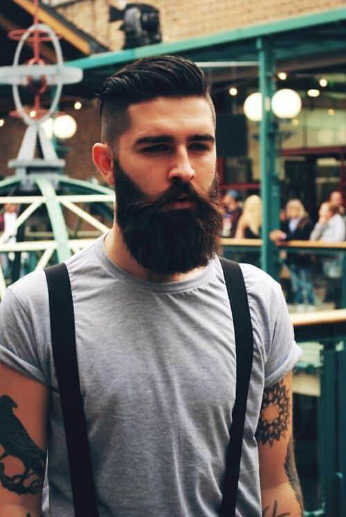 Astounding Do All Women Like Men With Beards Fashion Tag Blog Short Hairstyles For Black Women Fulllsitofus