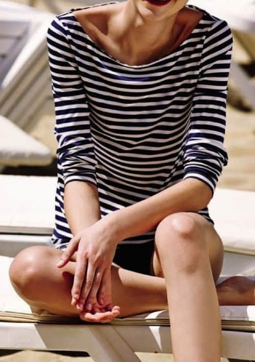 stripped tee The Thing About STRIPES & TOPS!