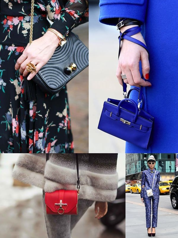 Tiny Bags Street Style 2017