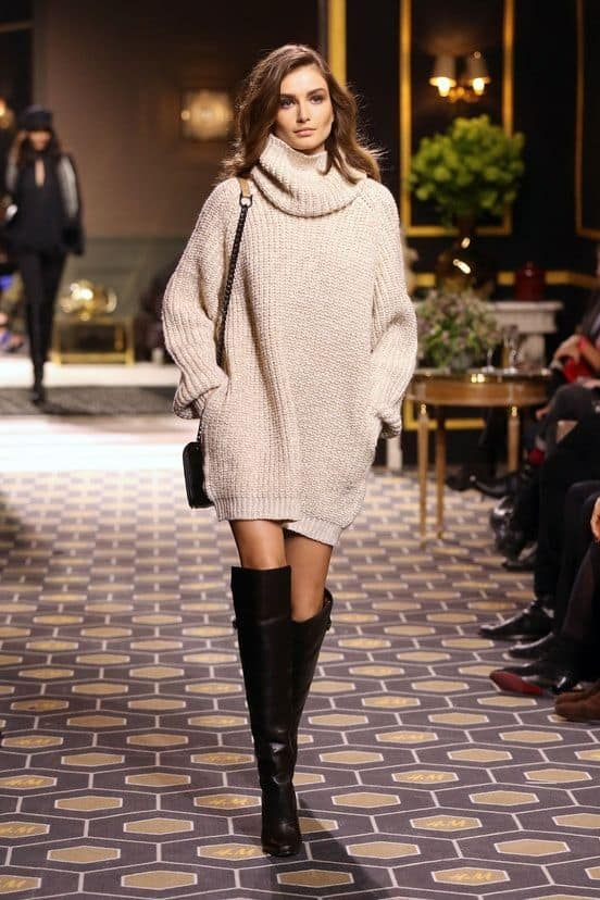 2014 Fall Sweater Knit Dresses fall trend knit dresses