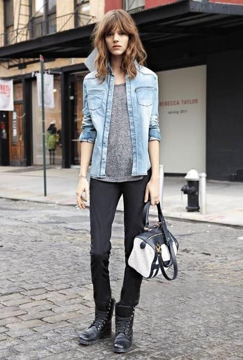 denim-shirt-styles-autumn-looks