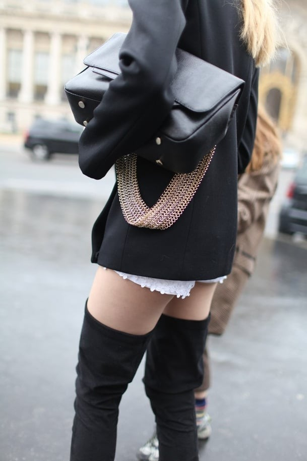 Goodbye Pants Hello Thigh High Boots The Fashion Tag Blog