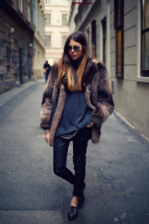 how to wear leather pants anywhere � the fashion tag blog