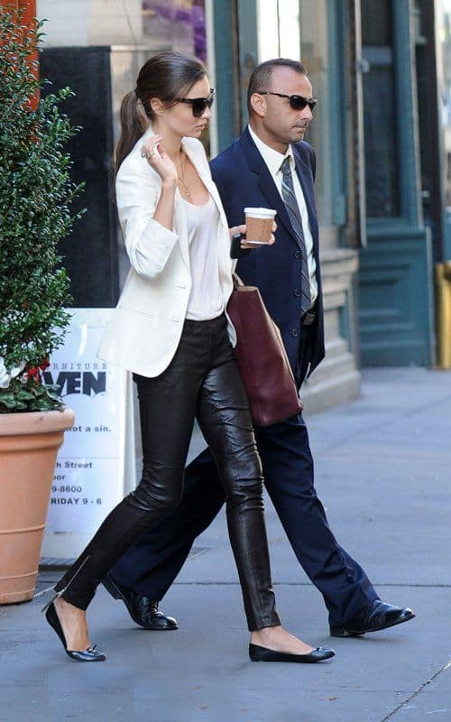 Leather Pants Trend 2018 Autumn