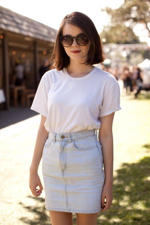 light-denim-skirt