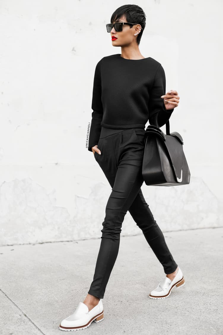 Office Looks: Black Trousers Don't Have To Be Boring – The ...
