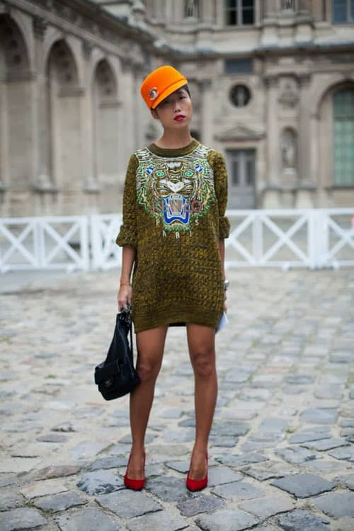 20f07206a8 Fall 2014 Trend  The SWEATER Dress – The Fashion Tag Blog