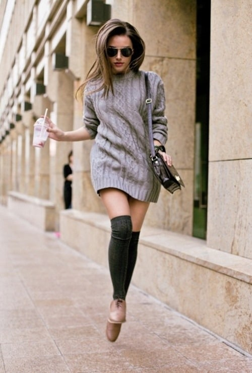 0ac366a84c2 Fall 2014 Trend  The SWEATER Dress – The Fashion Tag Blog