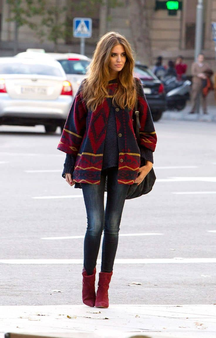 Street Style Poncho 2 The Fashion Tag Blog