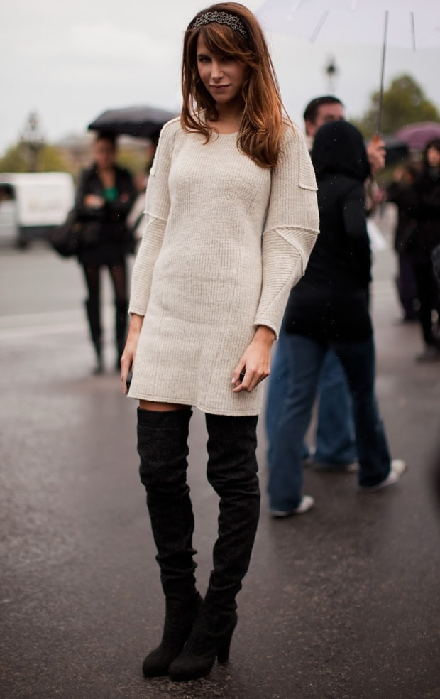 Street Style Sweater Dresses 6