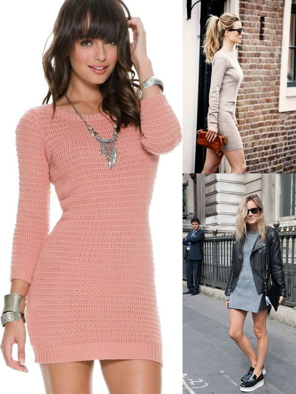 sweater-dress-look
