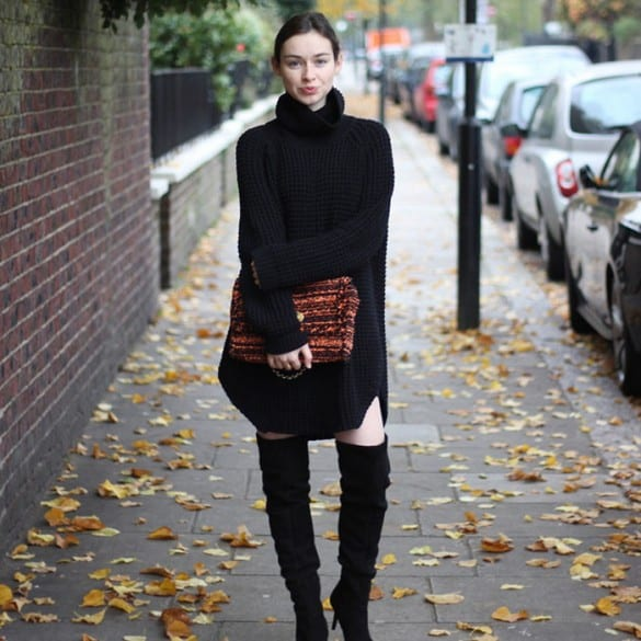 Sweater Dresses Trend 3