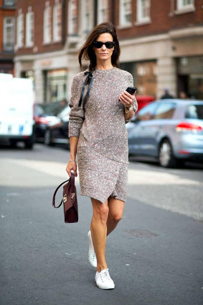 Sweater Dresses Trend 5