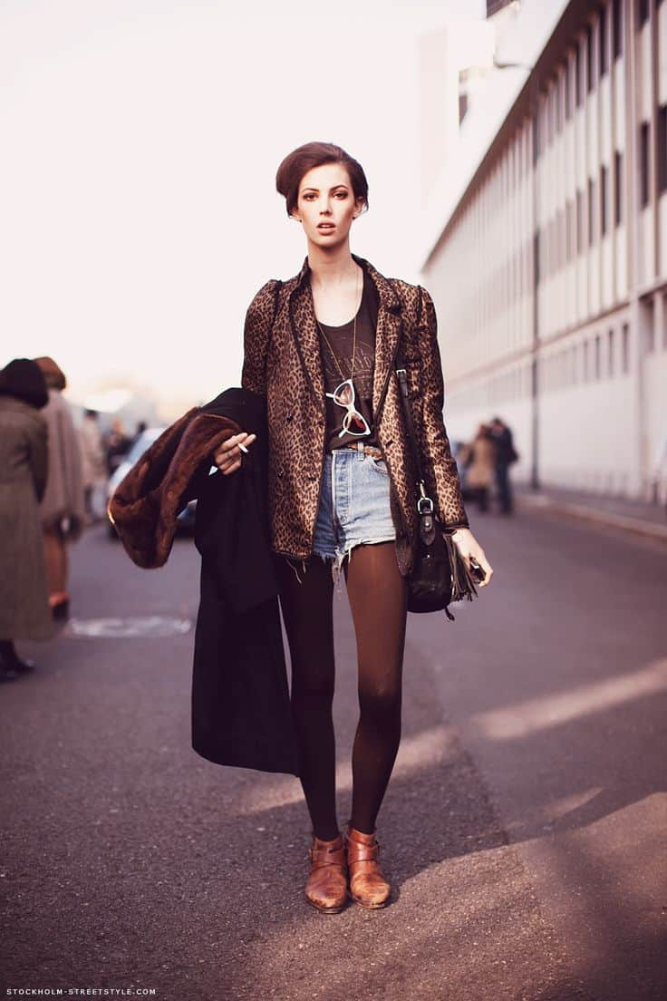 3 Ways To Wear Tights in Winter