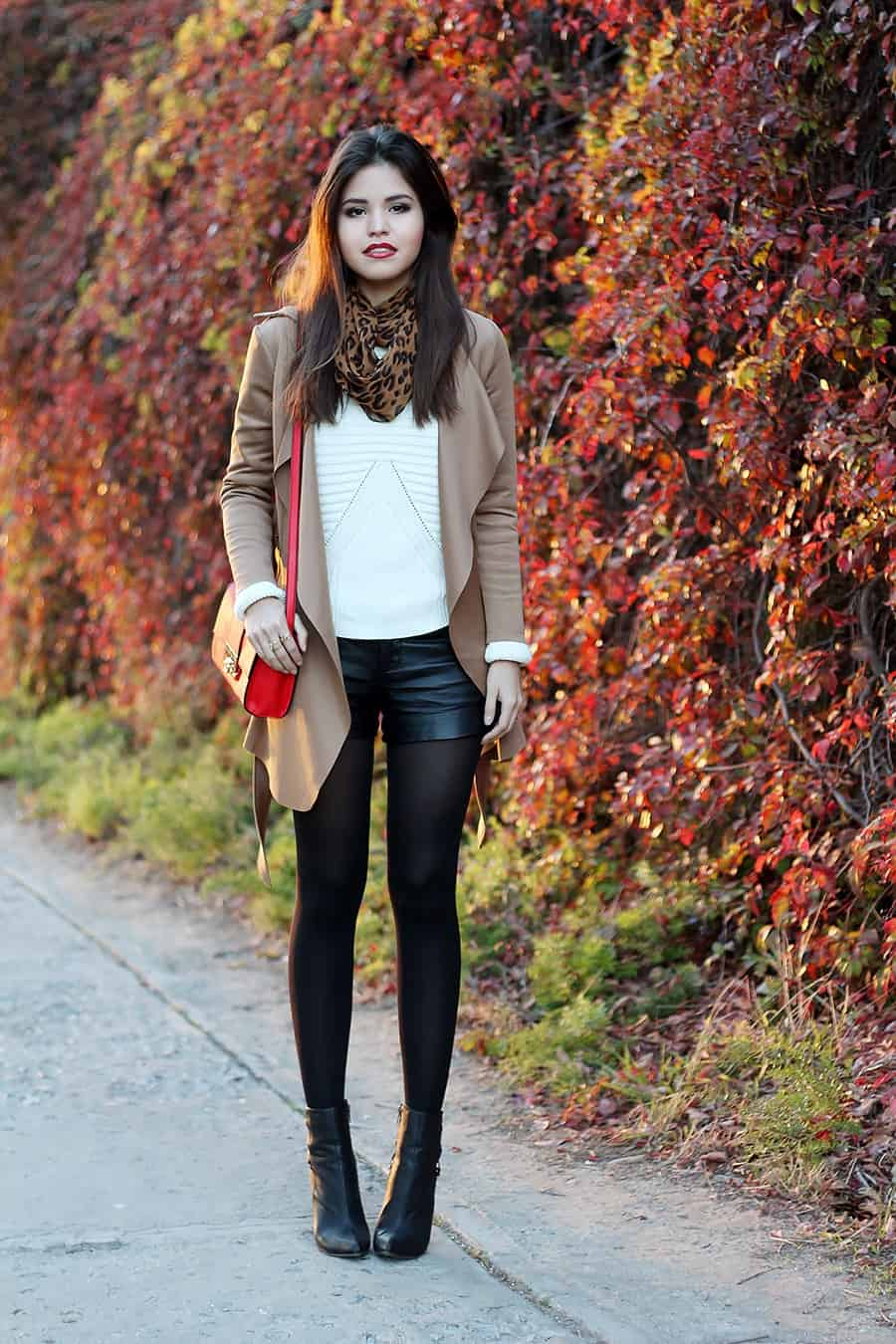 How To Wear SHORTS In Autumn & Winter? – The Fashion Tag Blog