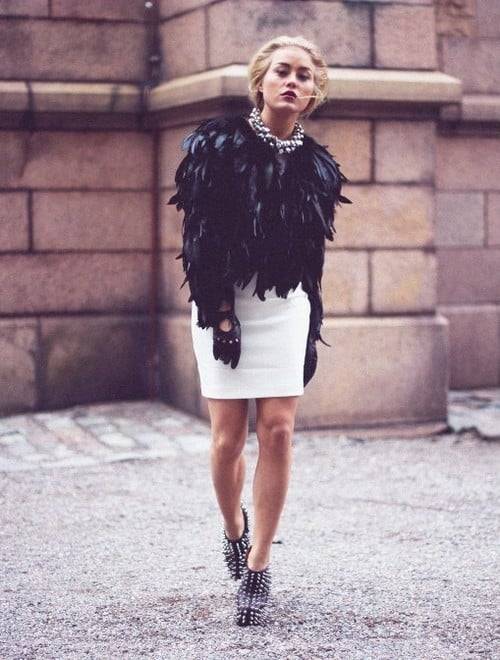 feathers-coat-autumn-trend-2014 (2) – The Fashion Tag Blog