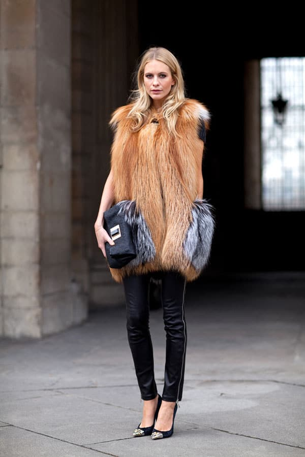 How Would You Wear A Fur Vest? – The Fashion Tag Blog