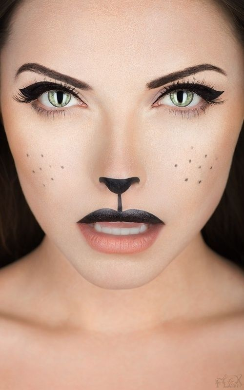 4 Easy To Do HALLOWEEN Costumes  The Fashion Tag Blog - Makeup Mask Ideas
