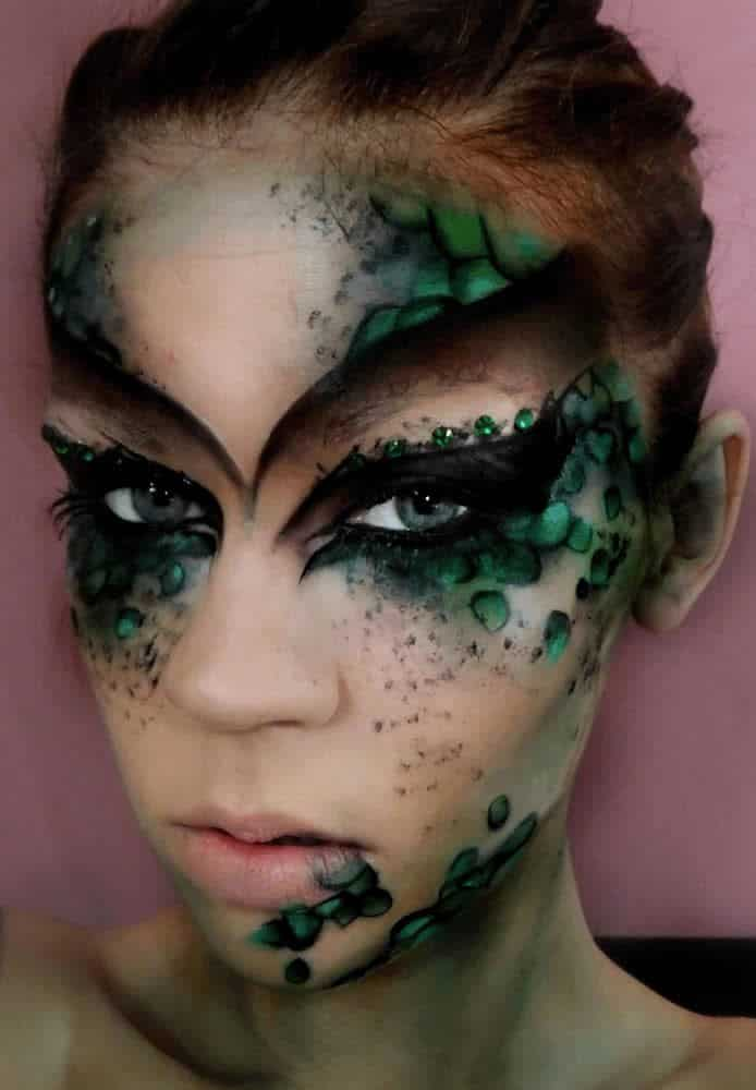 halloween costume ideas makeup (2) Fashion Tag Blog - Makeup Mask Ideas