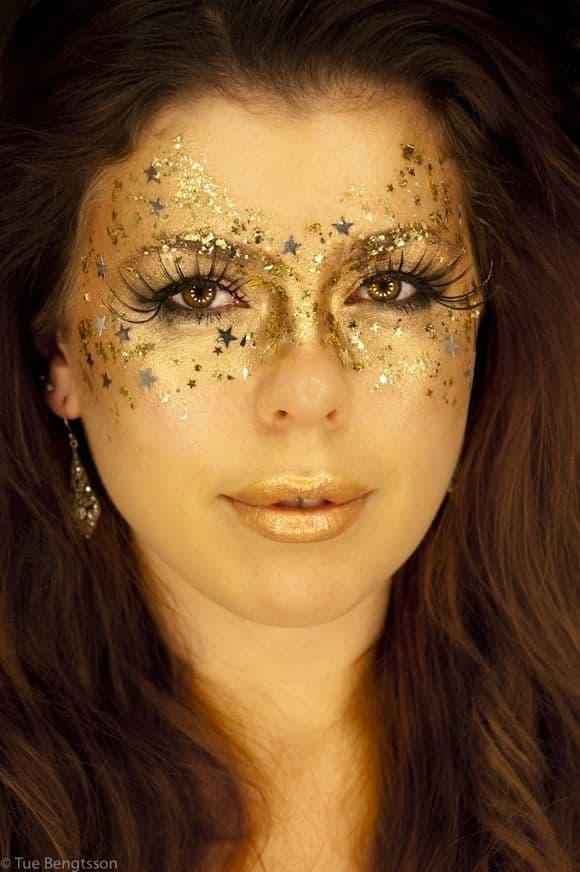 halloween costume ideas makeup (3)  The Fashion Tag Blog - Makeup Mask Ideas