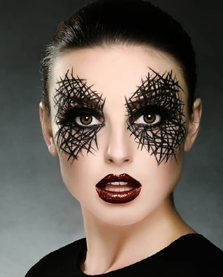 Make Up Halloween Ideas.4 Easy To Do Halloween Costumes The Fashion Tag Blog