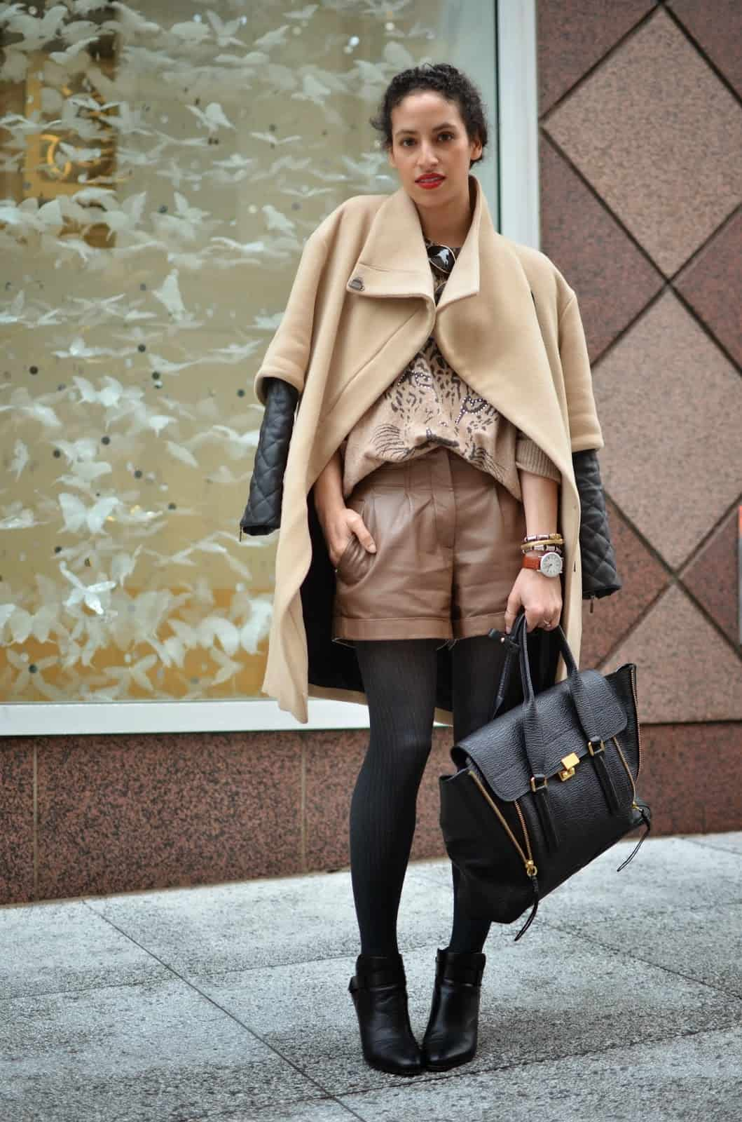how to wear shorts in autumn  winter – the fashion tag blog