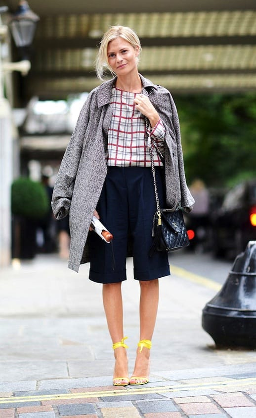 How To Wear Shorts In Autumn Winter The Fashion Tag Blog