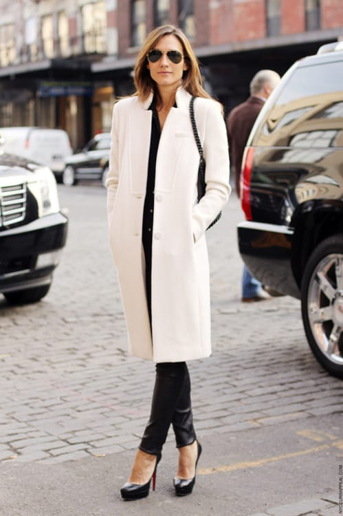 Classic Long Wool Coat: In a rich wool blend and longer length, this classic coat will keep you looking your best for many winter seasons to come.