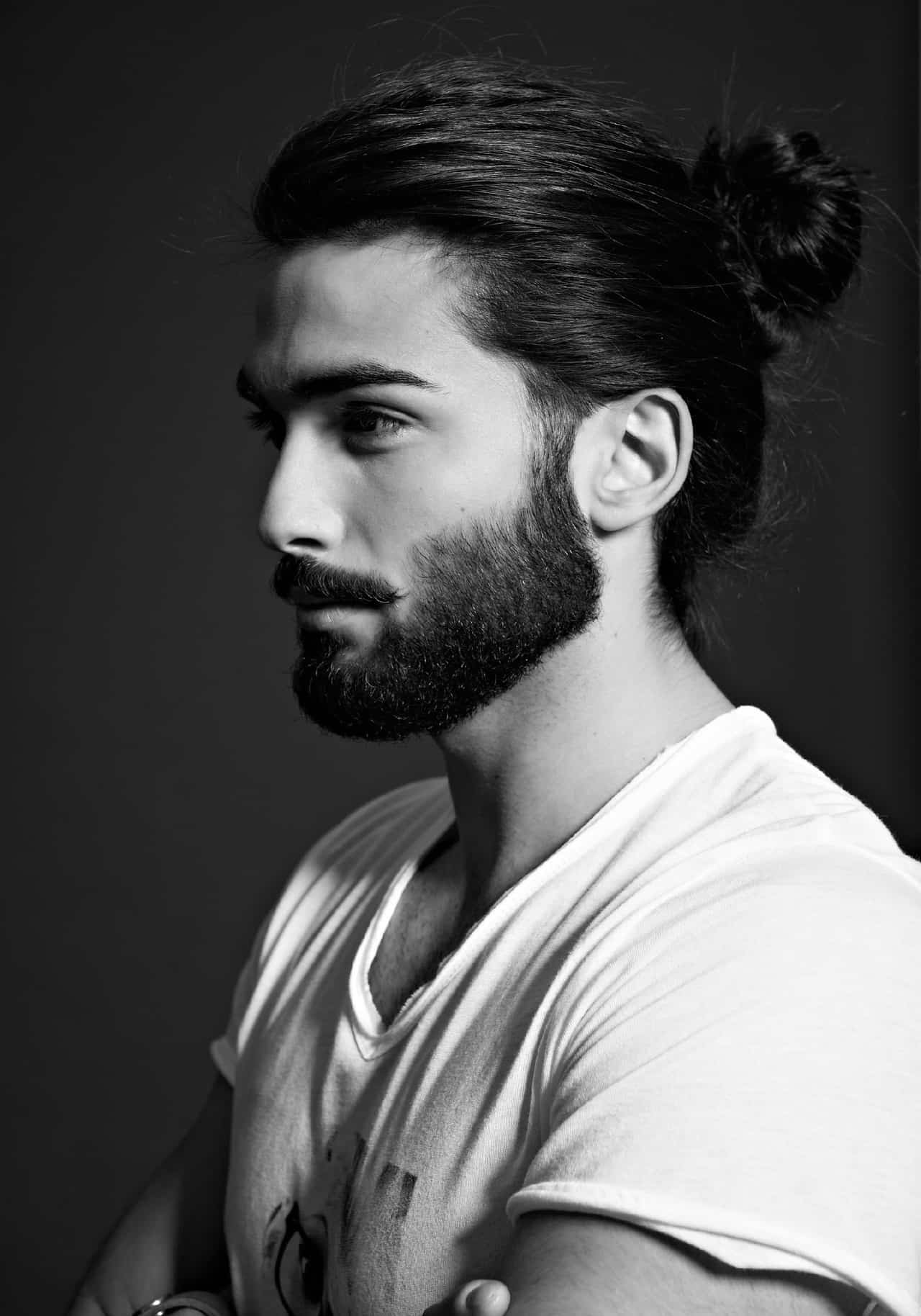 Marvelous Are All Men Growing Their Hair To Get Some Buns Hairstyles For Men Maxibearus
