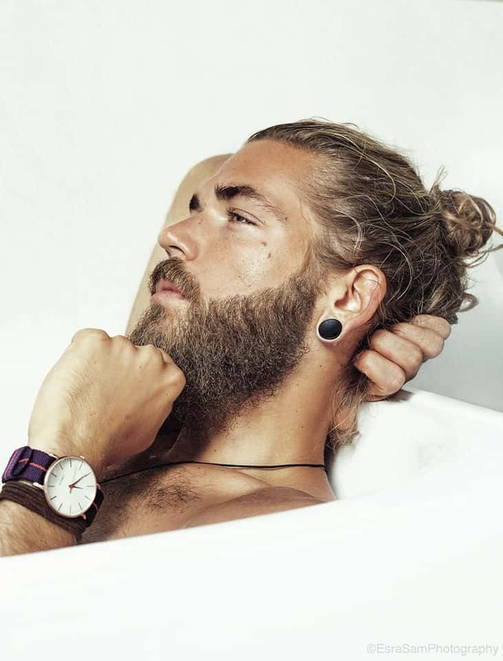 Cool Are All Men Growing Their Hair To Get Some Buns Hairstyles For Men Maxibearus