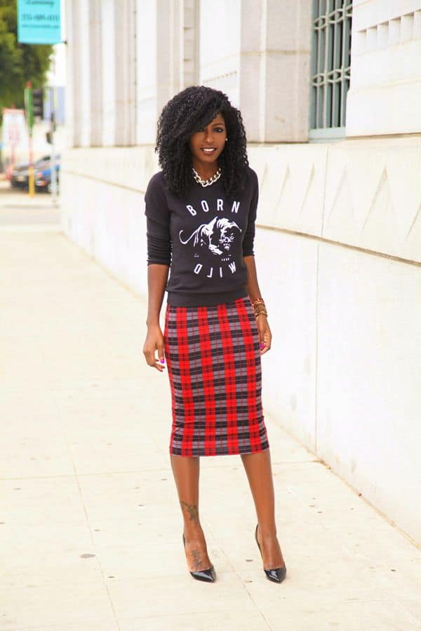 b5a6af4b5 The PLAID SKIRT And Its Many Faces – The Fashion Tag Blog