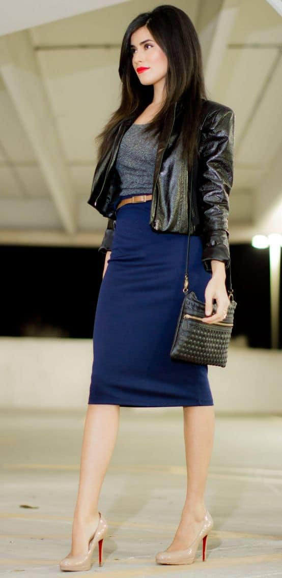 The PENCIL Skirt & Why All Women Love It? – The Fashion ...