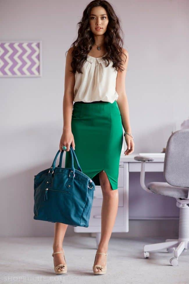Excellent Plus Size Skirt Collection
