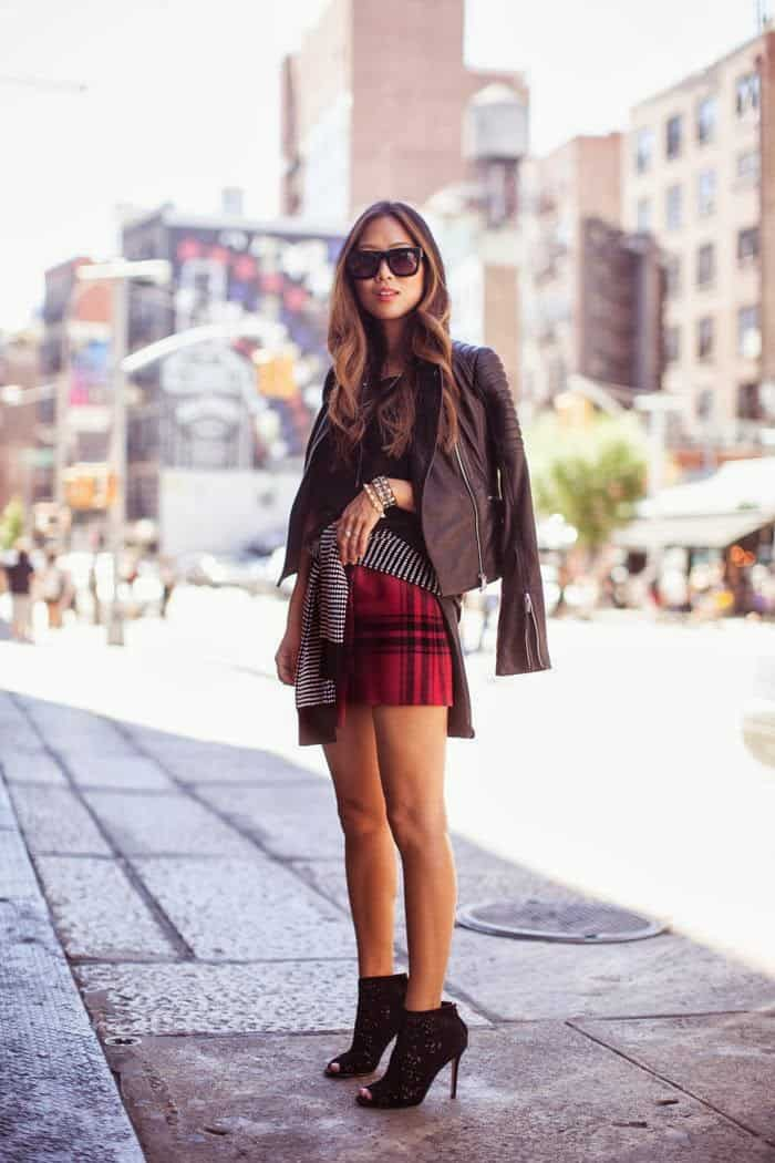The PLAID SKIRT And Its Many Faces u2013 The Fashion Tag Blog