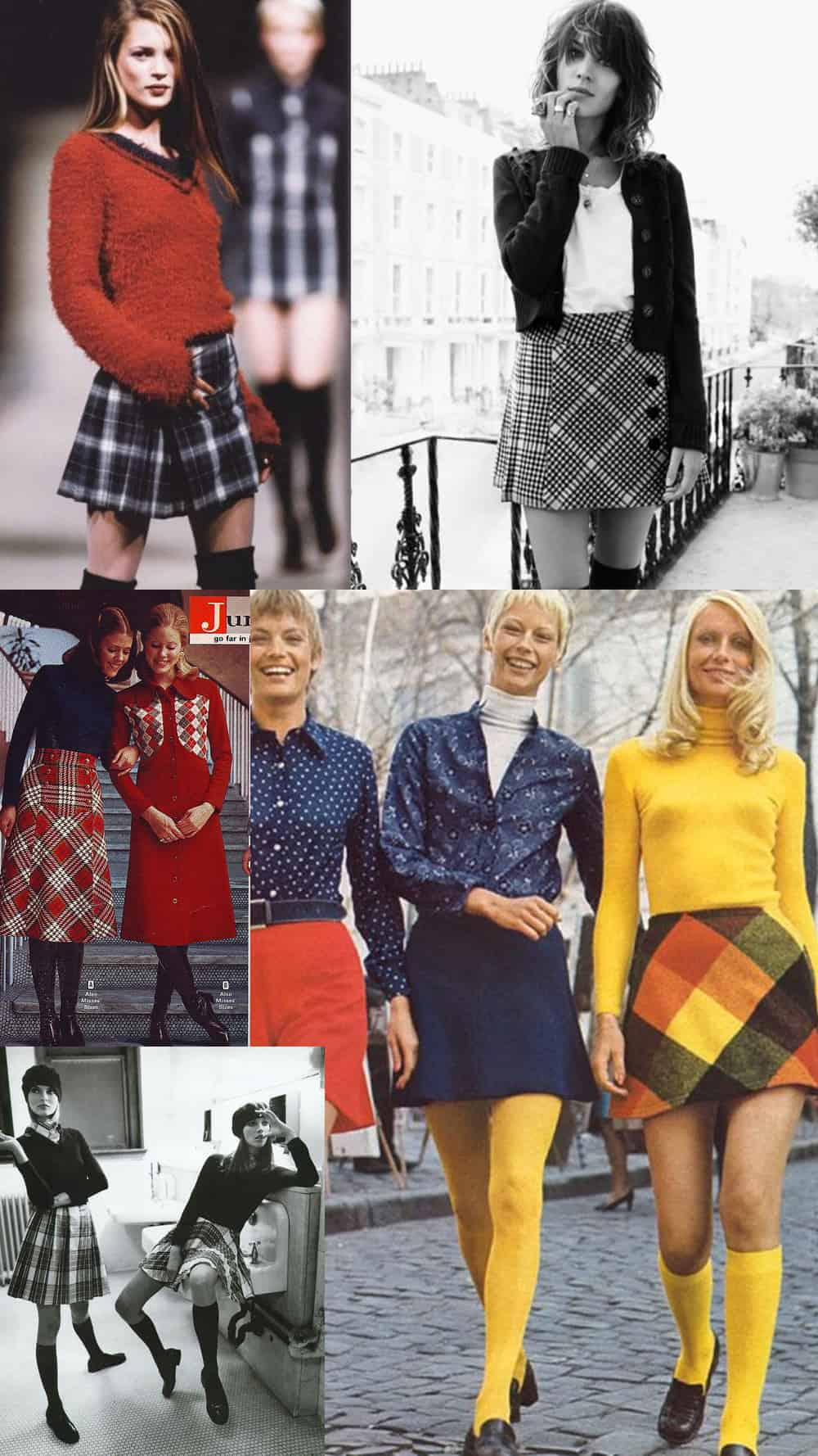 6c5982e96 The PLAID SKIRT And Its Many Faces – The Fashion Tag Blog