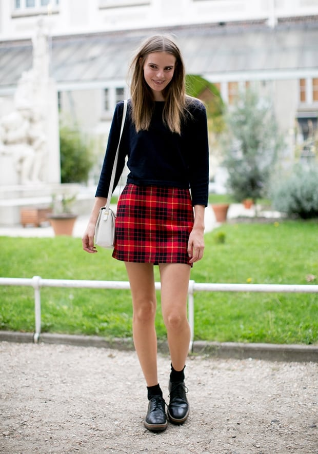 A Plaid Skirt 12