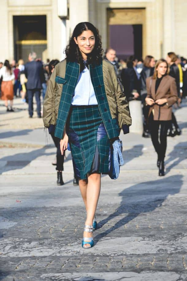 The PLAID SKIRT And It...