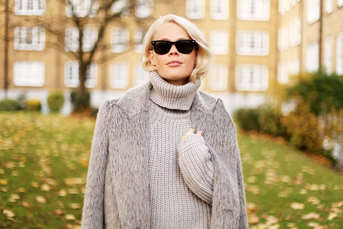 How to wear: turtleneck sweaters for women