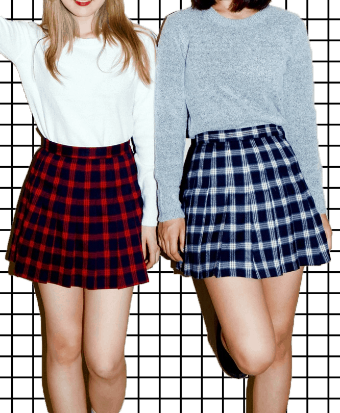 cb01f584e The PLAID SKIRT And Its Many Faces – The Fashion Tag Blog