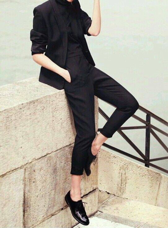 black-suit-style