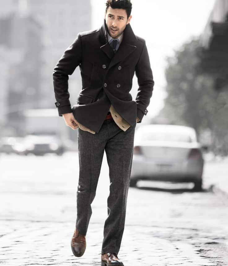 A slim puffer is a must in every man's coat closet. Wear this alone for walking the dog, or do as the pros do and layer it beneath a topcoat for warmth and unexpected visual texture on colder days.