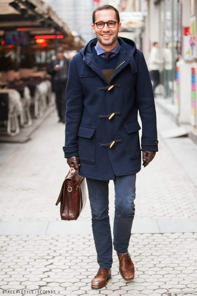 Mens Duffle Coat Photo Album - Reikian